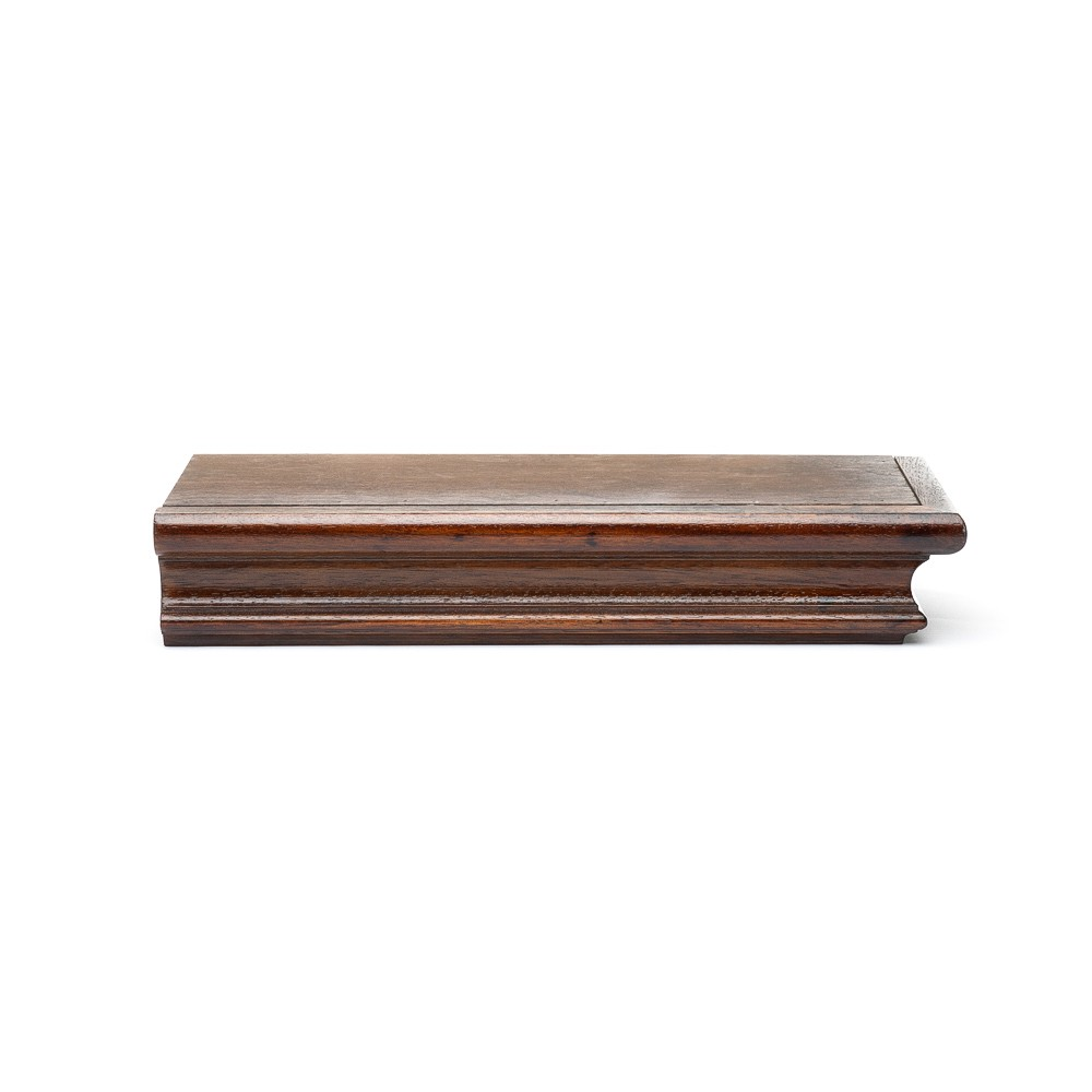 PC30 SIMPLE ROUNDED WOOD PELMET