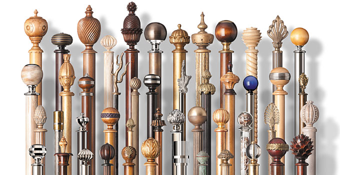 Curtains Ideas curtain rod glass finials : Bespoke Curtain Pole Finials | Traditional & Modern British Finials