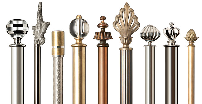 Metal Curtain Poles Archives - Mckinney & Co