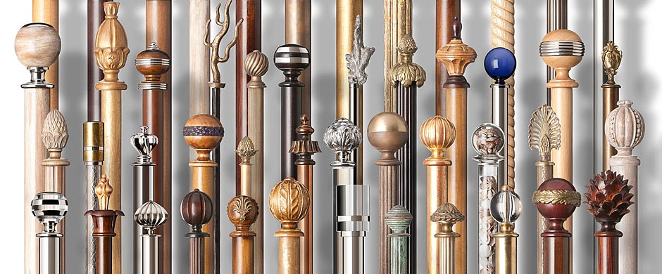 Custom & Bespoke British Curtain Poles